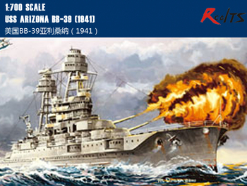 RealTS HobbyBoss 83401 1/700 USS Arizona BB-39 (1941)