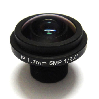 1/2 HD MP Balıkgözü 1.7 mm cctv Lens Geniş Açı.720p 5