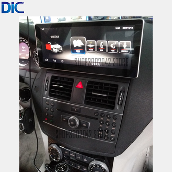 Benz C, YDP android sistemi araba çalar navigasyon-Class 2008-2011 C180 200 220 250 300 350 400 450 GPS video Bluetooth GPS